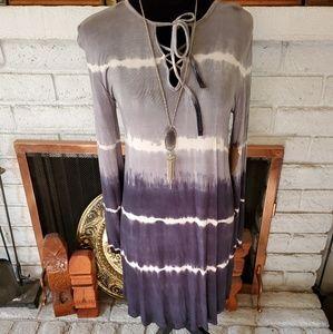 Fantastic Fawn ombre dress, S,